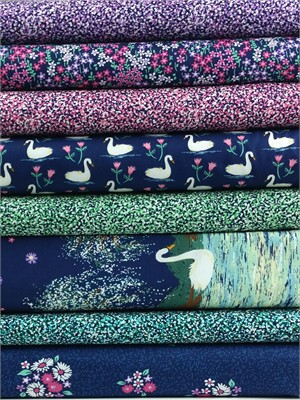 Michael Miller, Swan Lake in FAT QUARTERS 8 Total