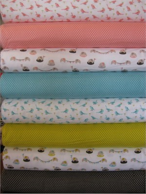 Michelle Engel Bencsko, Nursery FLANNEL, Entire Collection in FAT QUARTERS 8 Total (LAST BUNDLE)
