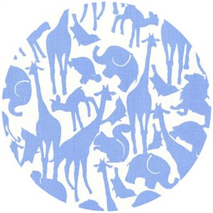 Michael Miller, Animal Silhouettes Blue