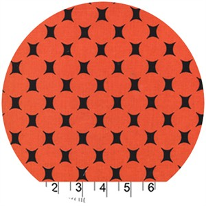 Michael Miller, Midcentury Modern, Atomic Dot Orange