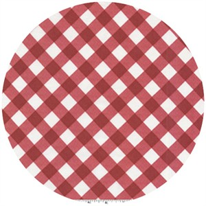 Michael Miller, Bias Gingham Red