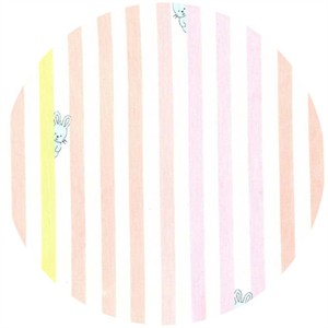 Michael Miller, Bunny Stripe Girl