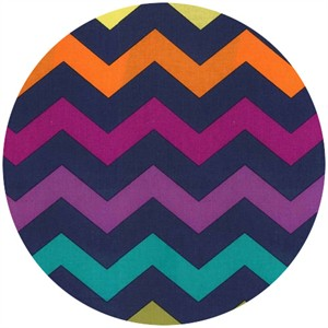 Michael Miller, Chic Chevron Midnight