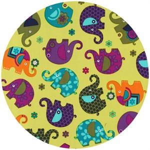 Michael Miller, Elephant Romp Starfruit
