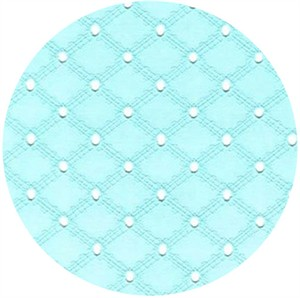 Michael Miller, Eyelet, Lattice Eyelet Aqua