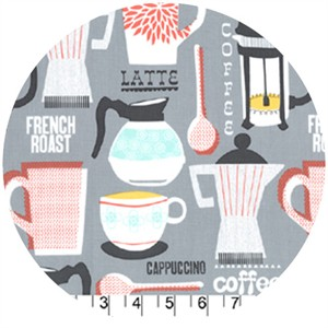 Michael Miller, French Roast Gray