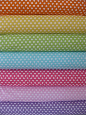Michael Miller, Kiss Dots in FAT QUARTERS, 6 Total