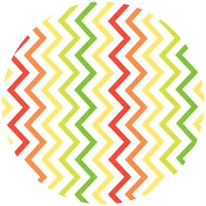 Michael Miller, Mini Chic Chevron Citrus