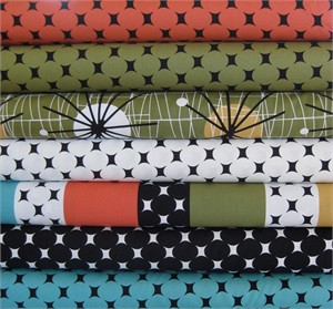 Michael Miller, Midcentury Modern in FAT QUARTERS, 7 Total