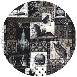 Michael Miller, Nevermore, Nevermore Collage Black