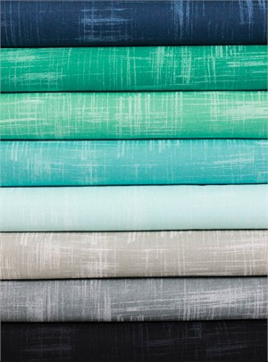 Michael Miller, Painters Canvas, Night at Sea in FAT QUARTERS 6 Total