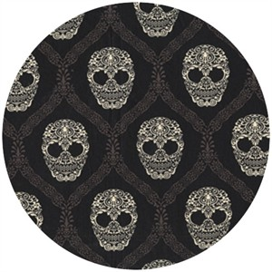 Michael Miller, Skull Damask Mud