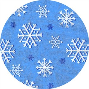 Michael Miller, Snowfall Blue