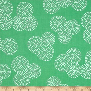 Michael Miller, Stitch Basics, Stitch Circle Mint
