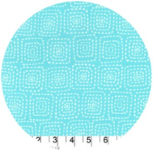 Michael Miller, Stitch Basics, Stitch Square Aqua