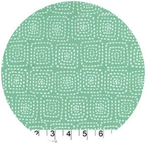 Michael Miller, Stitch Basics, Stitch Square Mint