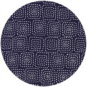 Michael Miller, Stitch Basics, Stitch Square Navy
