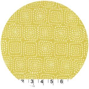 Michael Miller, Stitch Basics, Stitch Square Mustard