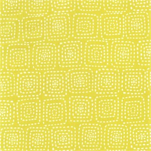 Michael Miller, Stitch Basics, Stitch Square Citron