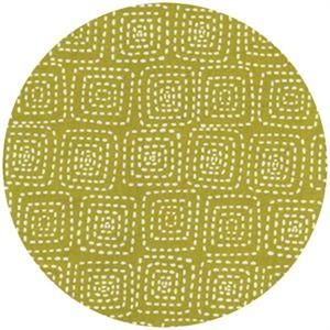 Michael Miller, Stitch Basics, Stitch Square Olive