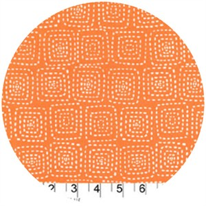 Michael Miller, Stitch Basics, Stitch Square Orange