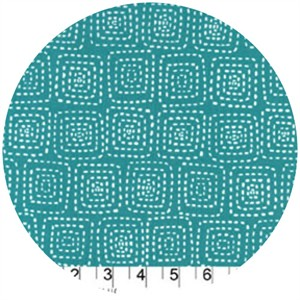 Michael Miller, Stitch Basics, Stitch Square Teal