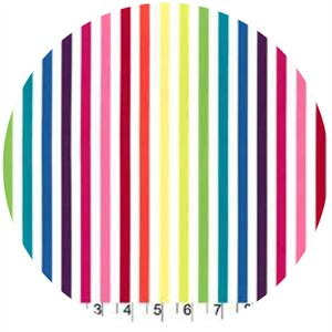 Michael Miller, Stripe Couture Rainbow