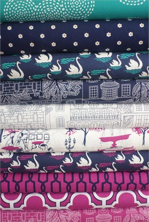 Michael Miller, Stroll Through Paris in FAT QUARTERS 10 Total