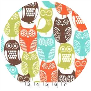 Michael Miller, Swedish Owls Brown