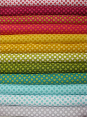 Michael Miller, Ta Dots in FAT QUARTERS 12 Total