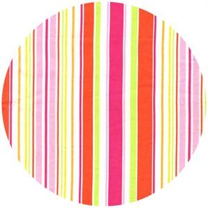 Michael Miller, Sea Buddies, Umbrella Stripe Pink