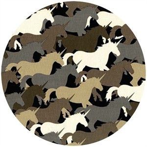 Michael Miller, Unicorn Herd Taupe