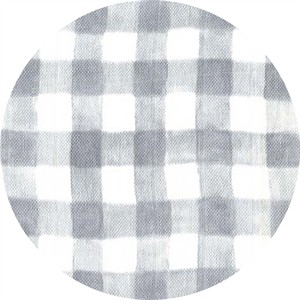 Sarah Jane for Michael Miller, DOUBLE GAUZE, Sommer, Mini Painted Gingham Gray
