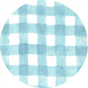 Sarah Jane for Michael Miller, DOUBLE GAUZE, Sommer, Mini Painted Gingham Mist