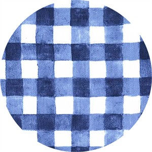 Sarah Jane for Michael Miller, DOUBLE GAUZE, Sommer, Mini Painted Gingham Navy