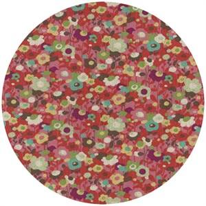 Momo, Avant-Garden, Linen, Poppin Poppies Cherry