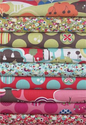 Momo, Avant-Garden, Linen Sampler 9 Total