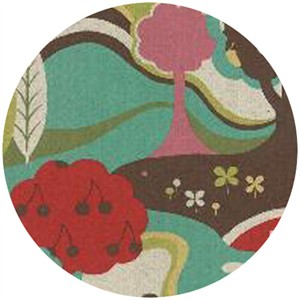 Momo, Avant-Garden, Linen, Scenic Fantasia Aqua Skies