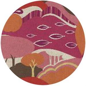 Momo, Avant-Garden, Linen, Scenic Fantasia Rose