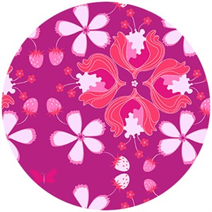 Mo Bedell, Hothouse Flowers, Lavish Floral Fuschia