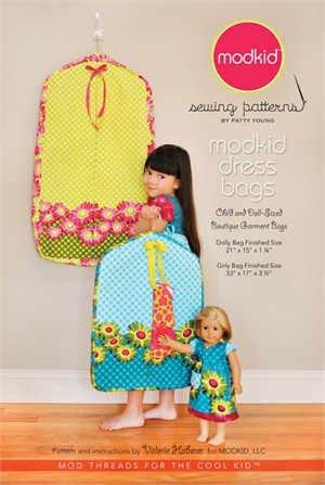 Modkid Boutique Sewing Patterns by Patty Young, Dress Bags