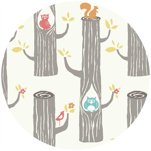 Monaluna for Birch Organic Fabrics, Circa 52, Woodland Friends