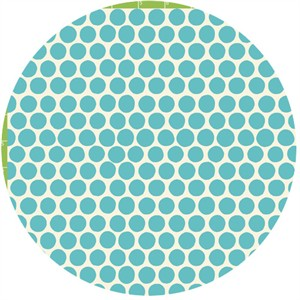 Monaluna Circa 60 Beach Mod for Birch Fabrics 100% Organic Dot Mineral