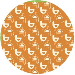 Monaluna Circa 60 Beach Mod for Birch Fabrics 100% Organic Mod Gulls Rust
