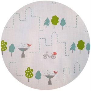 Monaluna for Birch Fabrics Organic, Next Stop, City Park
