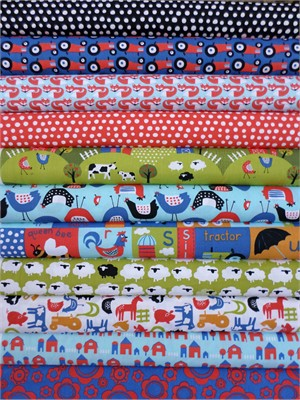 Monaluna, Free Range, Entire Collection in FAT QUARTERS 11 Total