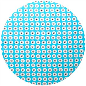 Monaluna, Havana, Organic, Buttons Blue