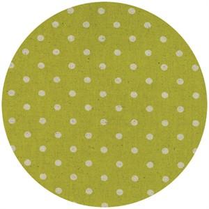 Momo, Linen Mochi Dot, Chartreuse