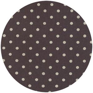 Momo, Linen Mochi Dot, Charcoal