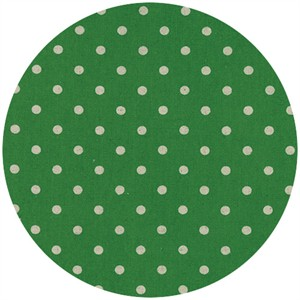 Momo, Linen Mochi Dot, Grass